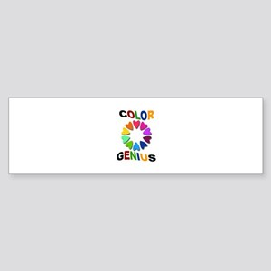 Color Genius Sticker (Bumper)
