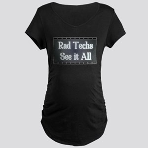 I See All. Maternity Dark T-Shirt