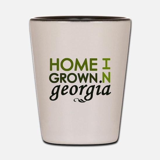 'Home Grown In Georgia' Shot Glass