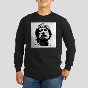 Gaddafi Long Sleeve Dark T-Shirt
