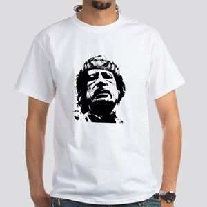 Gaddafi White T-Shirt