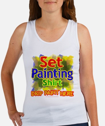 Set Painting Women's Tank Top