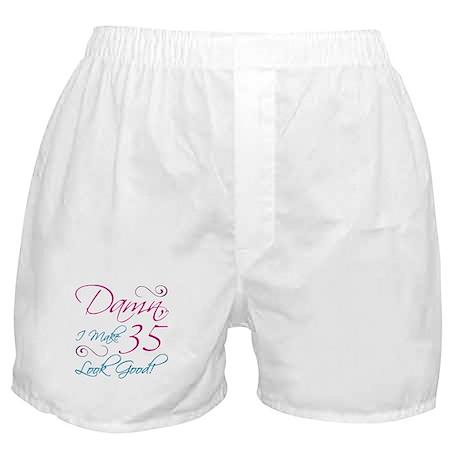 35th Birthday Humor Boxer Shorts