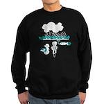 Cycling Hazard - Sudden Rain Sweatshirt (dark)
