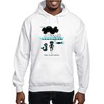 Cycling Hazard - Sudden Rain Hooded Sweatshirt