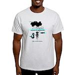 Cycling Hazard - Sudden Rain Light T-Shirt