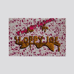 The Original Sloppy Joe Rectangle Magnet