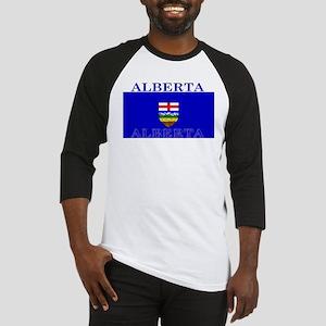 Alberta Albertan Flag Baseball Jersey