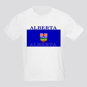 Alberta Albertan Flag Kids T-Shirt