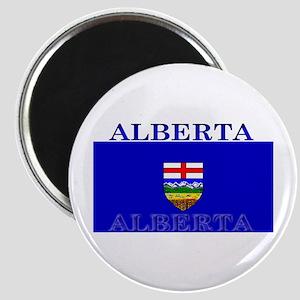 Alberta Albertan Flag Magnet
