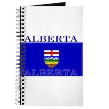 Alberta Albertan Flag Journal