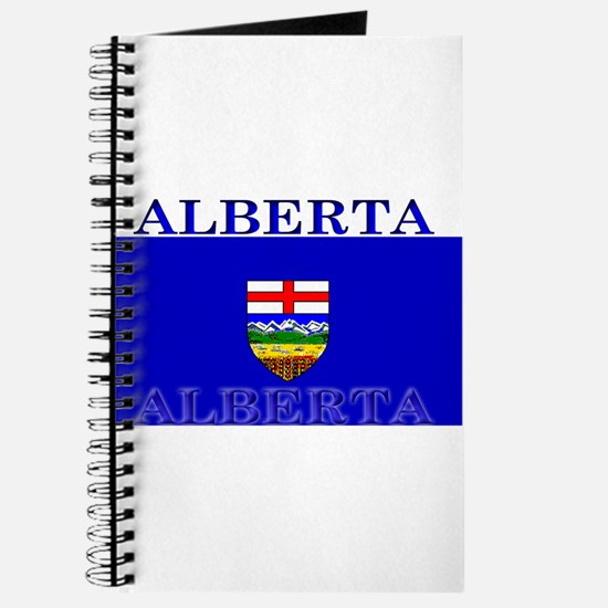 Alberta Albertan Flag Journal