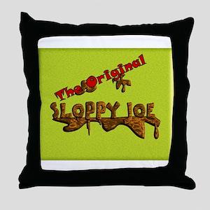 The Original Sloppy Joe V4.0 Throw Pillow