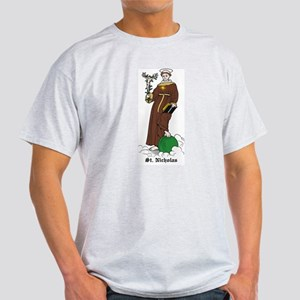 St. Nicholas of Torentino Ash Grey T-Shirt