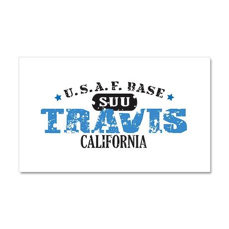Travis Air Force Base Car Magnet 20 x 12