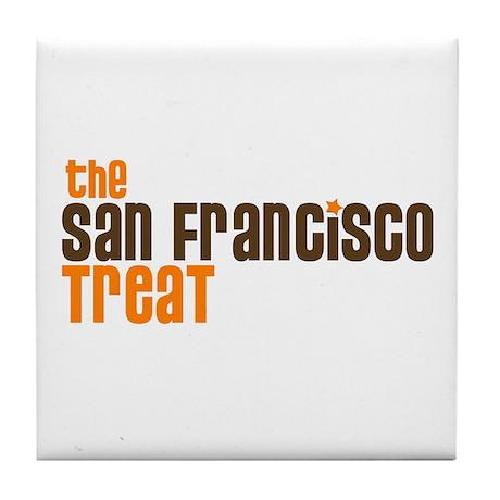 SF TREAT Tile Coaster
