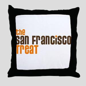 SF TREAT Throw Pillow