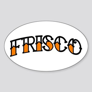 FRISCO TAT Oval Sticker