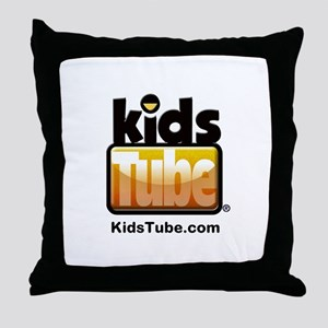 KidsTube Throw Pillow