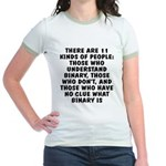 There are 11 kinds Jr. Ringer T-Shirt