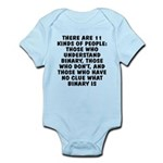 There are 11 kinds Infant Bodysuit