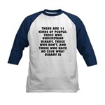 There are 11 kinds Kids Baseball Jersey