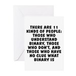 There are 11 kinds Greeting Cards (Pk of 20)
