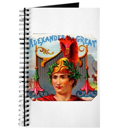 Alexander the Great Cigar Label Journal