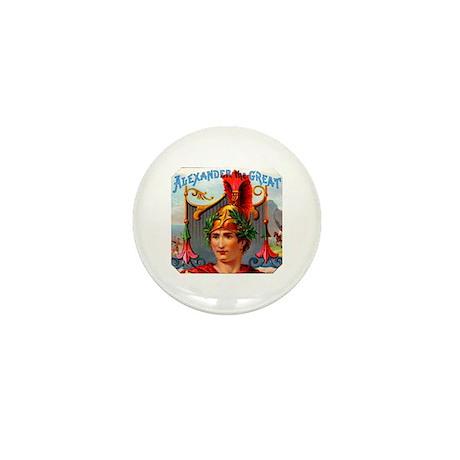 Alexander the Great Cigar Label Mini Button (100 p