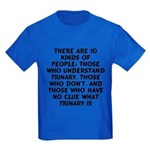There are 10 kinds Kids Dark T-Shirt