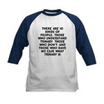 There are 10 kinds Kids Baseball Jersey
