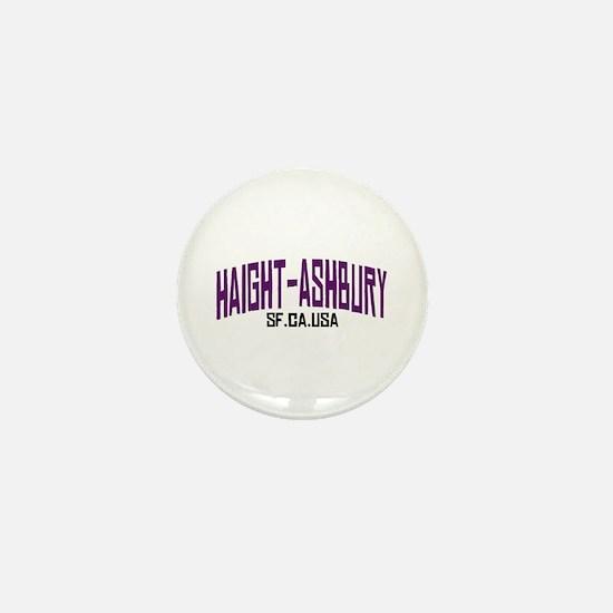 HAIGHT ASHBURY SF Mini Button
