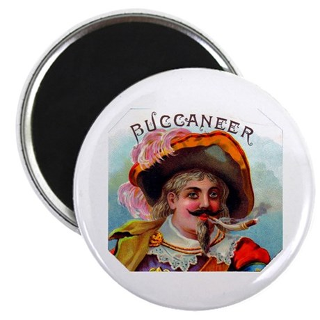 Buccaneer Cigar Label Magnet