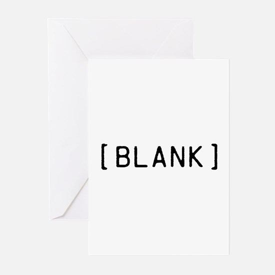 Cute Blank Greeting Cards (Pk of 10)