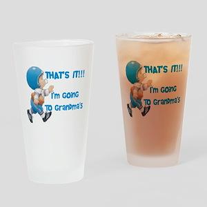 Going To Grandma's Drinking Glass