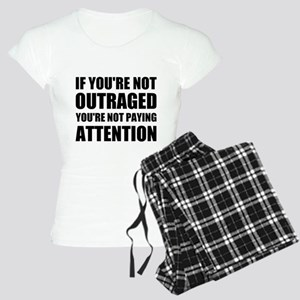 If You're Not Outraged Women's Light Pajamas