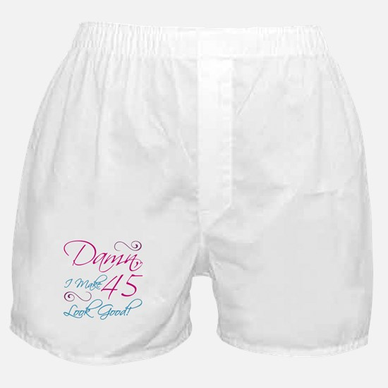 45th Birthday Humor Boxer Shorts