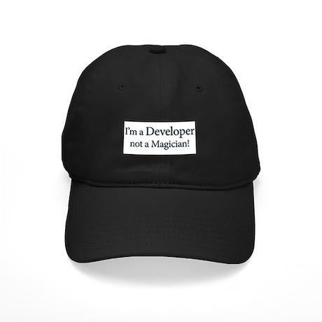 I'm a Developer not a Magicia Black Cap