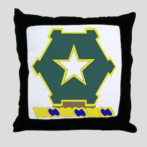 DUI - 1st Bn - 36th Infantry Regt Throw Pillow