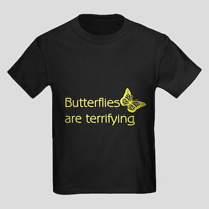 Butterflies Kids Dark T-Shirt