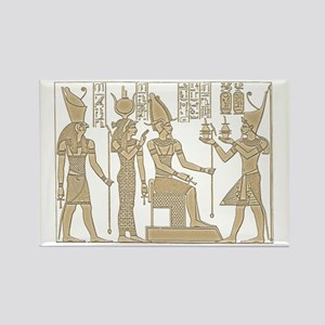 Vintage Egyptian Panel Rectangle Magnet