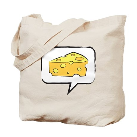 "WTD: Say ""CHEESE"" Tote Bag"