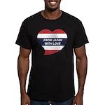 I love Thailand Men's Fitted T-Shirt (dark)