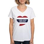 I love Thailand Women's V-Neck T-Shirt