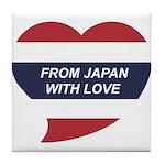 I love Thailand Tile Coaster