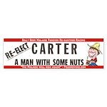 Re-elect Carter bumper sticker