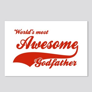 World's Most Awesome Godfather Postcards (Package