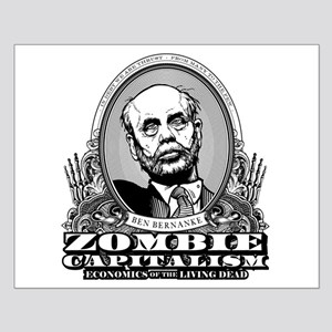 Zombie Capitalism Small Poster