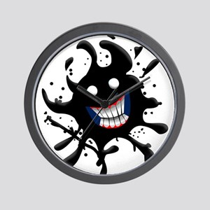 Oil Spill Smile Wall Clock