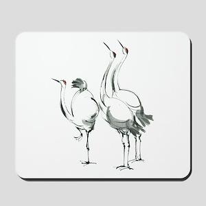 crane Mousepad